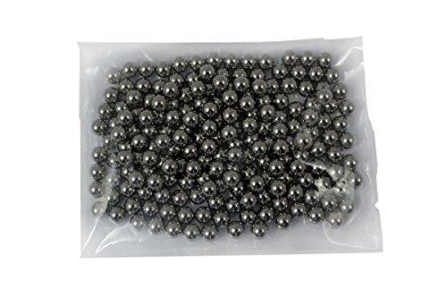 Sector 71 Premium Stahlkugeln 10mm für Schleudern, Zwillen, Katapult und Kugellager in Verschiedene Mengen (500 Stück) EINWEG