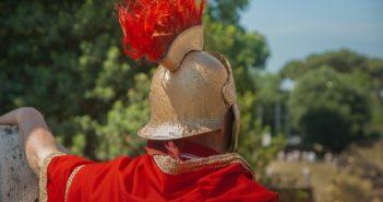 Römer ohne Stockschleuder